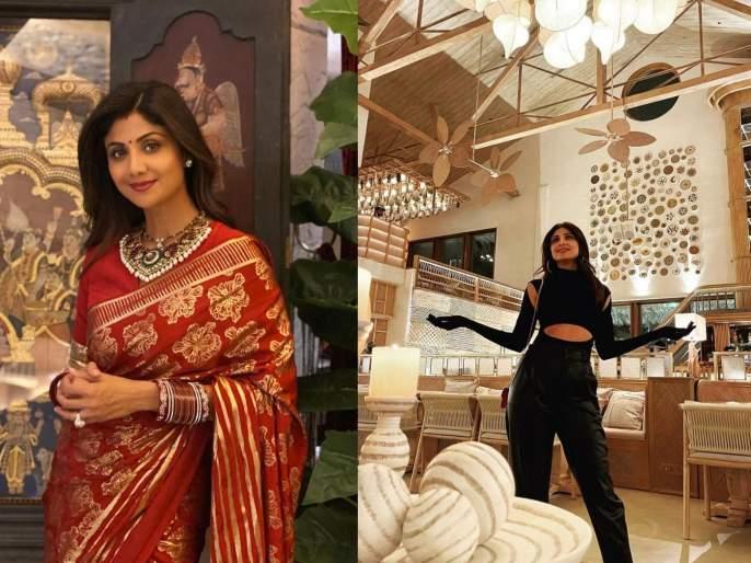 Shilpa shetty open her new bastian chain restaurant | शिल्पा शेट्टीने मुंबईत उघडलं नवं आलिशान रेस्टॉरंट, सोशल मीडियावर फोटो व्हायरल