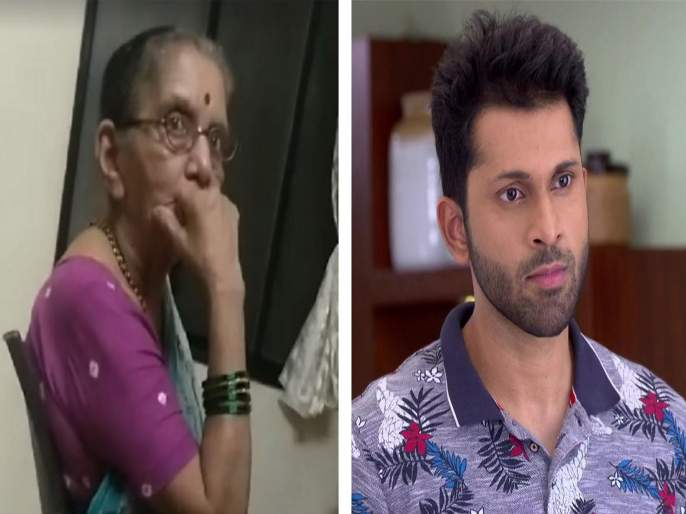 old lady scolding babdya of agga bai sasubai video viral | Viral Video :अग्गंबाई सासूबाई! बबड्यावर बरसल्या मालवणी आजीबाई!!