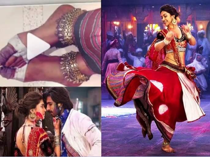 ranveer singh told how deepika padukone danced in ramleela song   पायाचे तळवे रक्ताने माखले होते, तरीही दीपिका नाचत राहिली...! रणवीर सिंगचा व्हिडीओ व्हायरल