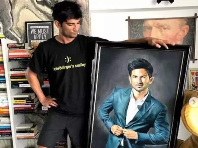secret behind sushant singh rajput smile well explained by preetie deshwal   काय होते सुशांतच्या टी-शर्टवर लिहिलेल्या 'Schrodinger's Smiley' मागचे 'सीक्रेट'?