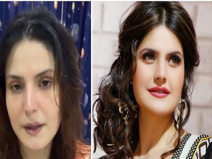 zareen khan angry on lilavati hospital and staff says they are doing business video goes viral | तेव्हा कोव्हिड वॉरिअर्स असे वागतात...! 'लीलावती'च्या कारभारावर भडकली जरीन खान