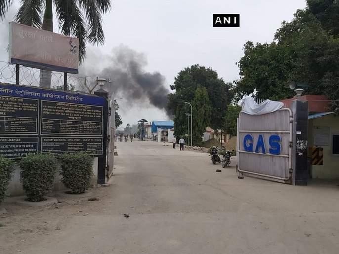 Gas Tank Explosion at Hindustan Petroleum Corporation Plant in Unnao | उत्तर प्रदेशातील हिंदुस्तान पेट्रोलियमच्या गॅस प्लांटमध्ये स्फोट; परिसरात खळबळ