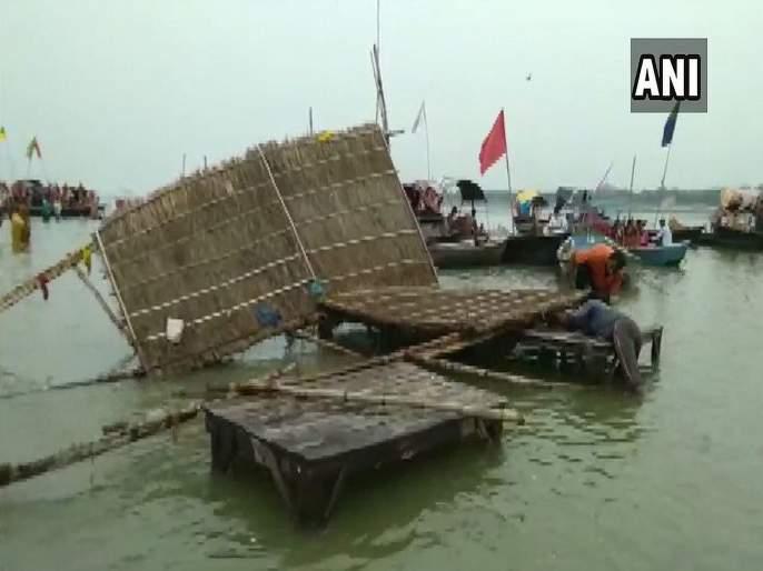 15 dead, 133 buildings collapse as rainfall wreaks havoc in UP | उत्तर प्रदेशमध्ये पावसाचा कहर; 15 जणांचा मृत्यू; 133 इमारती कोसळल्या