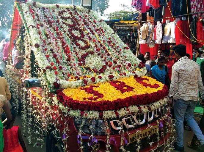 The 5th Royal Urus was celebrated in Jawar, with enthusiasm | जव्हारमध्ये ५६७ वा शाही उरूस थाटात, उत्साहात साजरा