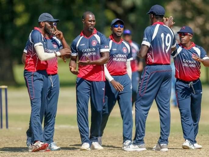 ICC MEN'S T20 WORLD CUP; Cayman Islands scored lowest T20I scores in a full 20-over inns against USA | अमेरिकेचा ट्वेंटी-20 क्रिकेटमध्ये वर्ल्ड रेकॉर्ड; टीम इंडिया पाचव्या स्थानी