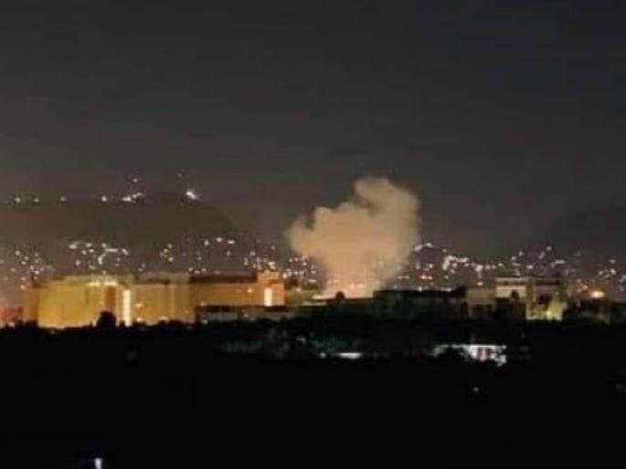 Rocket blast at US Embassy in Kabul on 9/11 anniversary | वर्ल्ड ट्रेड सेंटर हल्ल्याला 18 वर्षे पूर्ण; काबुलमध्ये अमेरिकी दुतावासासमोर बॉम्बस्फोट