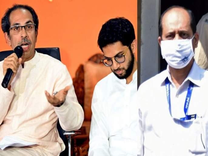 "BJP MLA Nitesh Rane has criticized CM Uddhav Thackeray and Minister Aditya Thackeray   ""सचिन वाझे थेट मुख्यमंत्र्यांना रिपोर्टिंग करायचे; आदित्य ठाकरेंसोबतही होते ऑनकॉल"""