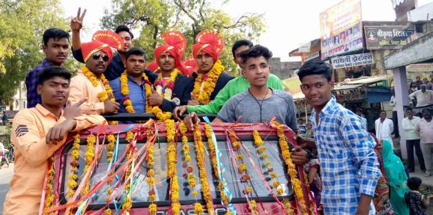 Asegaon's vaibhav kaithvas won gold medal in International Kabaddi   आसेगावचा वृषभ कैथवास आंतरराष्ट्रीय कबड्डीत चमकला