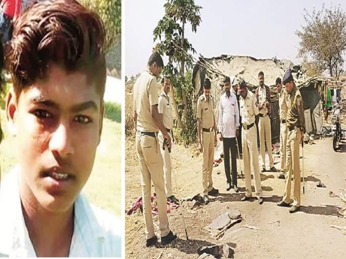 Neighbor youth murdered on suspicion of kidnapping a girl at Vaijapur; Tense silence in the village after the assassination | तरुणीच्या अपहरणाच्या संशयातून शेजारील युवकाची हत्या; घटनेनंतर गावात तणावपूर्ण शांतता