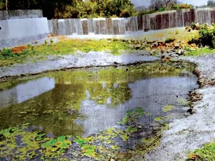 Theft of the pond by throwing water | भराव टाकून वरसावे तलावाची चोरी