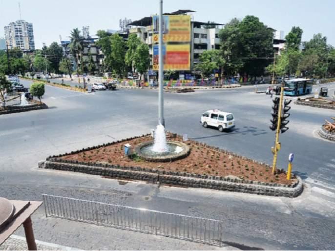 CoronaVirus Lockdown: Navi Mumbai residents have been locked up, from Digha to Belapur | CoronaVirus Lockdown : नवी मुंबईकर झाले कडकडीत 'लॉक', दिघा ते बेलापूरपर्यंत शुकशुकाट