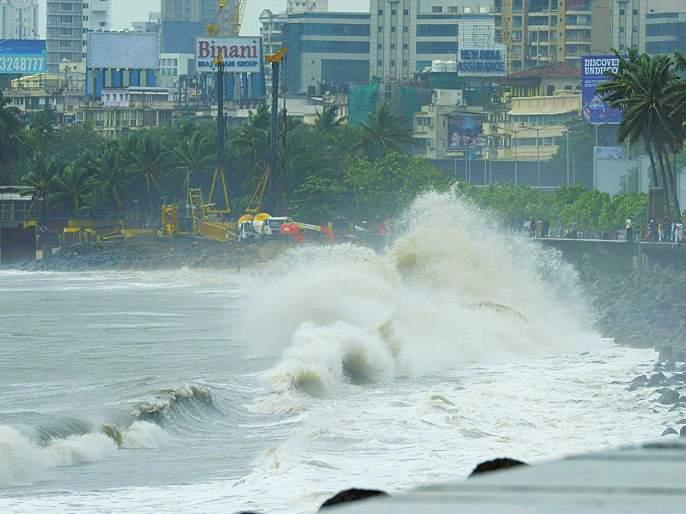 Cyclone Vayu will hit in Gujarat today; Due to the downfall in Mumbai, | Cyclone Vayu Update: 'वायू' चक्रीवादळ आज गुजरातेत धडकणार; मुंबईत पडझड सुरु झाल्याने धावाधाव