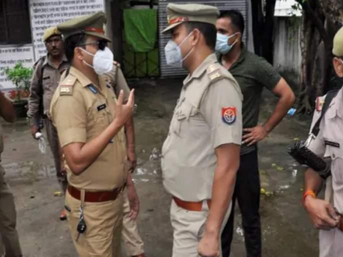 Another encounter in Uttar Pradesh; Elimination of gangster in BJP MLA murder case | उत्तर प्रदेशमध्ये आणखी एक एन्काऊंटर; भाजपा आमदार हत्याकांडातील गँगस्टरचा खात्मा