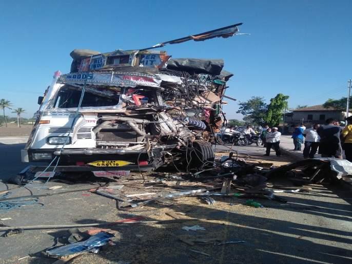 Accident on the city-Daund route: One killed | नगर-दौंड मार्गावर अपघात : एक ठार