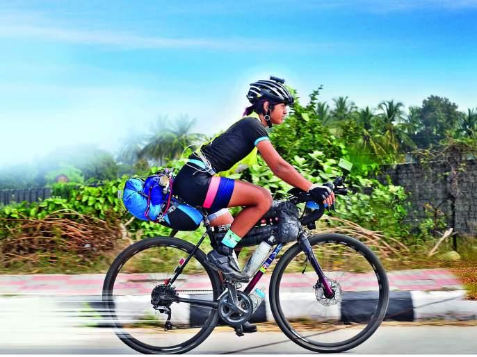 You do- This belief and freedom make Vedangi Kulkarni to beacome fastest cylclist in Asia. | सायकलवर जगप्रदक्षिणा करण-या वेदांगीला तिच्या आई बाबांनी काय सांगितलं असेल?