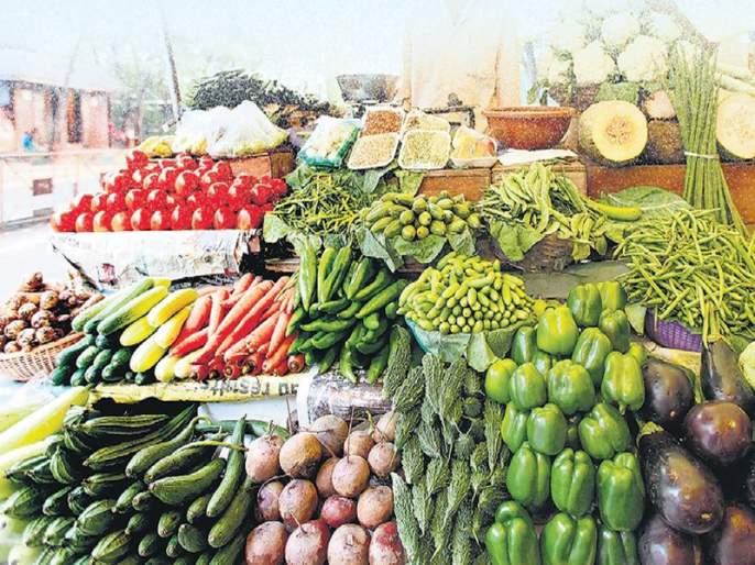 Vegetable deficit in Mumbai; Quotes increased | मुंबईमध्ये भाजीपाल्याचा तुटवडा; बाजारभाव वाढले