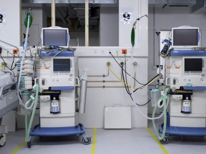Patients on a trauma ventilator breathe artificially with a mango bag for half an hour | 'ट्राॅमा'तील व्हेंटिलेटरवरील रुग्णांना तब्बल अर्धा तास अंबू बॅगने कृत्रिम श्वास