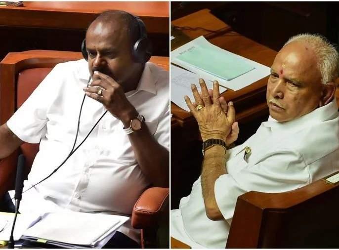 Kumaraswamy ready to left power before confidence motion? Invitation to BJP to form govt   विश्वासदर्शक ठरावाआधीच कुमारस्वामींनी हार पत्करली? भाजपला दिले 'निमंत्रण'