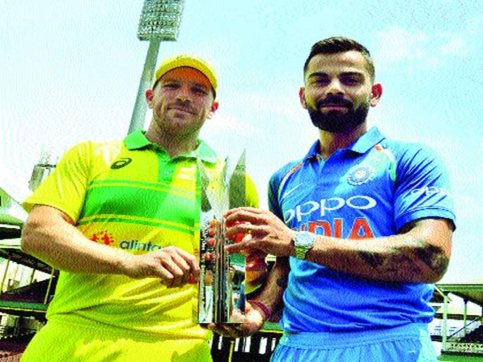Team India's World Cup preparations from today | एकदिवसीय मालिकेद्वारे टीम इंडियाची आजपासून विश्वचषक तयारी