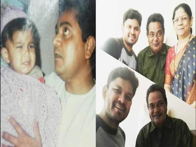 Vijay Chavan Death anniversary: Vijay Chavan family pictures | Vijay Chavan Death anniversary: विजय चव्हाण यांच्या फॅमिलेचे फोटो तुम्ही पाहिलेत का?