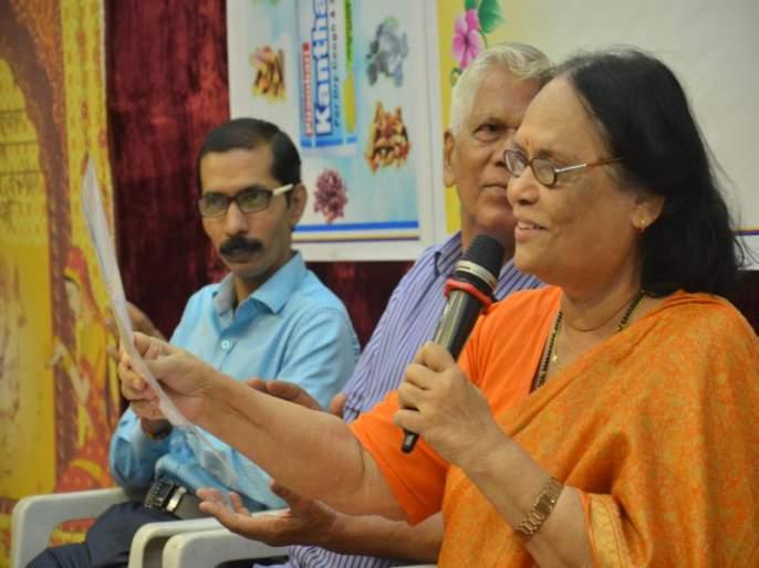 Whose love for children should be a teacher: The legendary writer, Dr. Vijaya Wad | ज्यांचे मुलांवर प्रेम त्यांनीच शिक्षक व्हावे : ज्येष्ठ साहित्यिका डॉ. विजया वाड