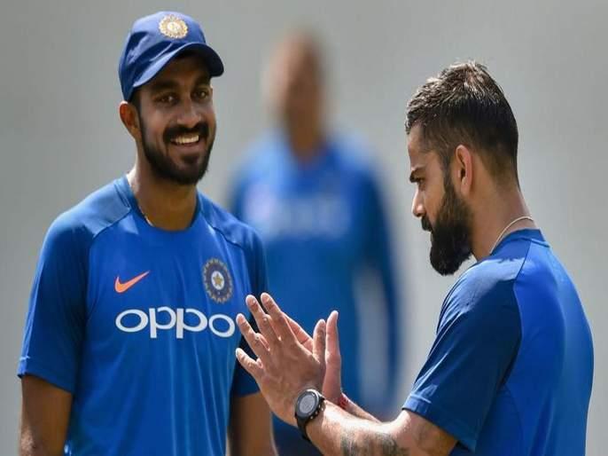 ICC World Cup 2019 : 'Vijay Shankar gives three dimensions' - Chief selector on picking him ahead of Ambati Rayudu | ICC World Cup 2019 : विजय शंकर ठरू शकतो विराटसेनेसाठी हुकमी एक्का... जाणून घ्या का?
