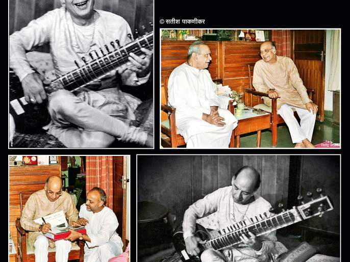 Satish Paknikar's memories about Indian classical sitar player Ustad Vilayat Khan on his birthday.. | 'आफ्ताब-ए-सितार'