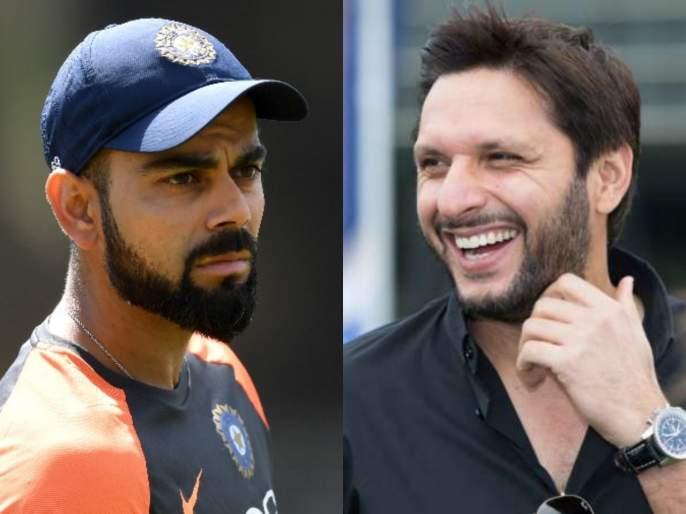 'Indian team was lucky' - Shahid Afridi on his failures against India in World Cups | तेव्हा 'दैव' टीम इंडियाच्या बाजूनं होतं; आफ्रिदीनं अपयशाचं खापर फोडलं नशिबावर
