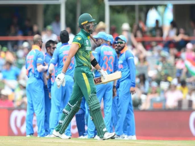 India's winning hat-trick! South Africa's 124 runs in the third ODI | भारताची विजयी हॅटट्रिक! तिसऱ्या वनडेत दक्षिण आफ्रिकेचा 124 धावांनी धुव्वा