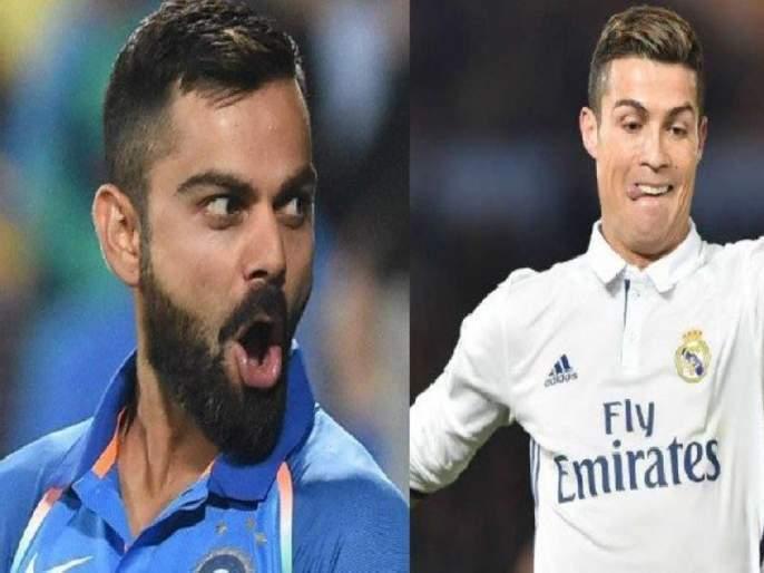 Virat Kohli is Cristiano Ronaldo of cricket - Dwayne Bravo | 'विराट कोहली हा क्रिकेटचा ख्रिस्तियानो रोनाल्डो'