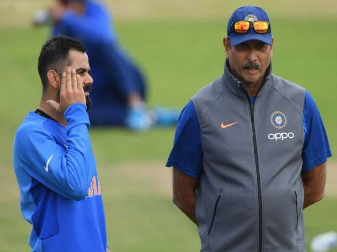 ICC World Cup 2019 : Virat & Shastri target for world cup defeat?   ICC World Cup 2019 : पराभव कसा झाला? विराट, शास्त्रीवर होणार प्रश्नांची सरबत्ती