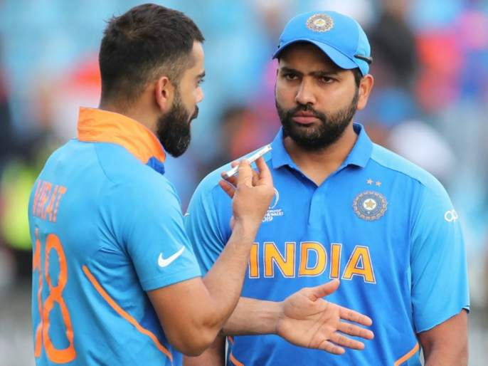 India vs West Indies: Race between Virat Kohli and Rohit Sharma for leading run-getters in T20Is    India vs West Indies: विराट कोहली, रोहित शर्मा यांच्यात पुन्हा चढाओढ; पाहा कुणाची बाजू वरचढ