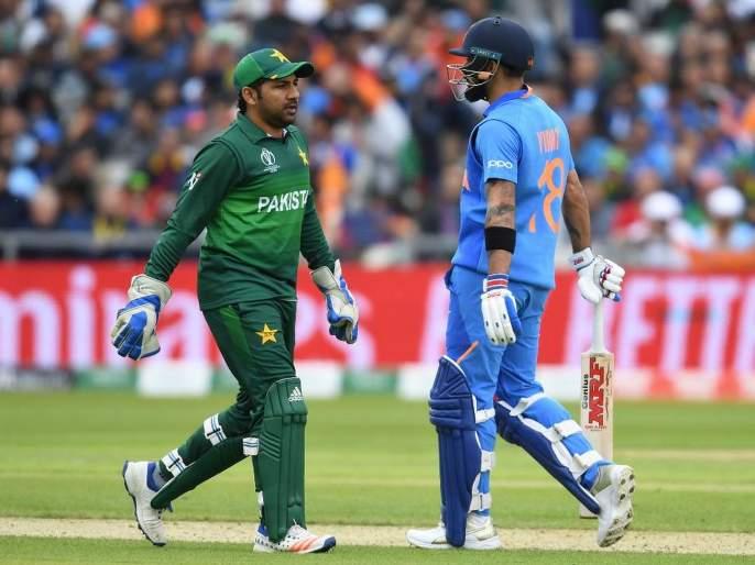 India vs Pakistan, Latest News: Virat Kohli walked when he did not edge the ball | India Vs Pakistan, Latest News:विराटची अतिघाई! नाबाद असतानाही परतला तंबूत
