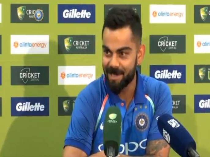 India vs Australia 1st ODI: Will not take bat again after retirement, Virat Kohli | India vs Australia 1st ODI : निवृत्तीनंतर पुन्हा बॅट हातात घेणार नाही, विराट कोहली