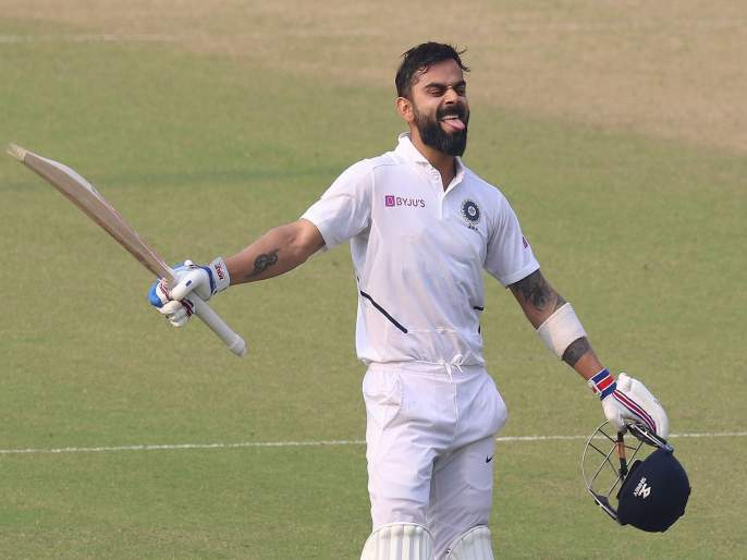New Zealand vs India, 1st Test : Virat Kohli past former Indian captain Sourav Ganguly in test runs | NZ vs IND, 1st Test : विराट कोहलीची ११वी धाव ठरली पराक्रमी; मोडला सौरव गांगुलीचा विक्रम