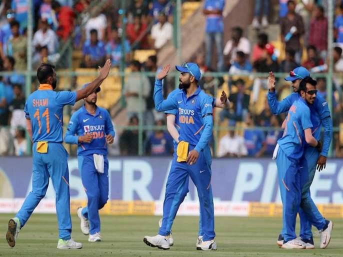 Team India dominates against Australia | टीम इंडियाचे तुल्यबळ ऑस्ट्रेलियावर वर्चस्व
