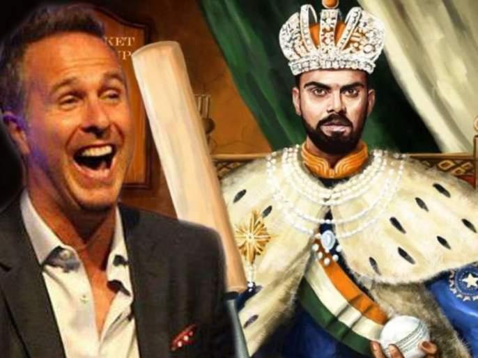 ICC World Cup 2019 : Michael vaughan mocks emperor virat kohli with instagram post | ICC World Cup 2019 : इंग्लंडच्या खेळाडूनं उडवली विराट कोहलीची खिल्ली; म्हणाला...