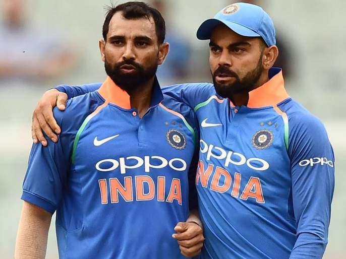 one spot available for T20 World Cup among pacers, says India captain Virat Kohli | ट्वेंटी-20 वर्ल्ड कप संघात एका गोलंदाजाची जागा रिक्त; विराट कोहलीनं स्पष्ट केलं चित्र