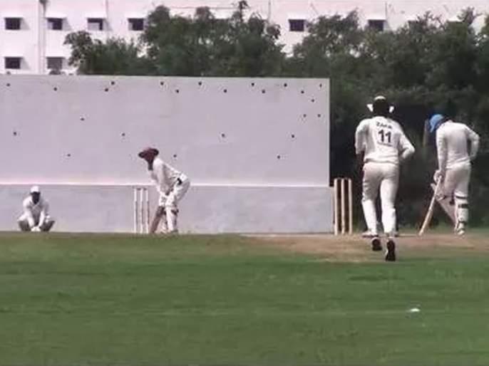 Sawantvadi cricketer virendra naik died at dressing room during cricket match, played in hyderabad   दुर्दैवी; पंचांचा निर्णय मनाला लागला?; अर्धशतकी खेळीनंतर सावंतवाडीच्या फलंदाजानं जीव गमावला