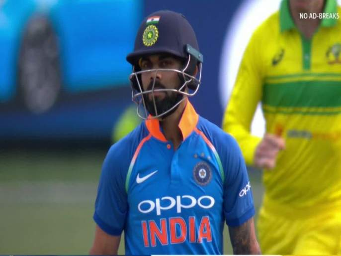 India vs Australia 1st ODI: Know about Jhye Richardson, who took virat kohli wicket | India vs Australia 1st ODI : पहिल्याच सामन्यात 'विराट' विकेट घेणारा रिचर्डसन आहे कोण?