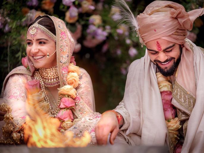 Anushka Sharma reveals Virat Kohli's fake name she used to keep their wedding a secret affair | लग्नासाठी विराट-अनुष्का यांनी घेतला खोट्याचा सहारा; नेमकं कारण काय?