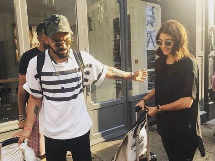 ICC World Cup 2019 : Anushka Sharma Joins Virat Kohli in London Ahead of India-Afghanistan Clash at The Rose Bowl | ICC World Cup 2019 : अनुष्का शर्माची 'वर्ल्ड कप' वारी; या तारखेला दिसणार टीम इंडियासोबत