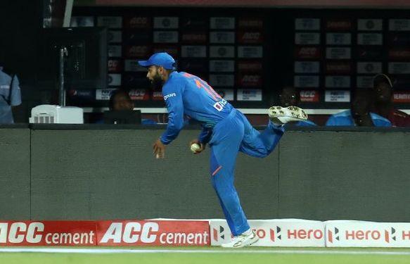 India vs West Indies: Virat Kohli reveals about that 'super catch' ...   India vs West Indies : विराट कोहलीने त्या 'सुपर कॅच'बद्दल केला मोठा खुलासा...