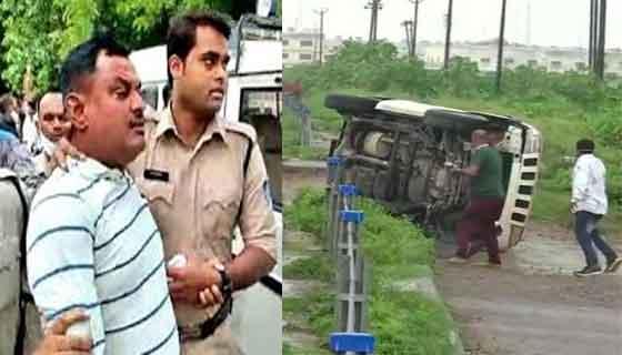 Action against police in Kanpur encounter case | विकास दुबे कानपूर चकमकप्रकरणी पोलिसांवर कारवाई