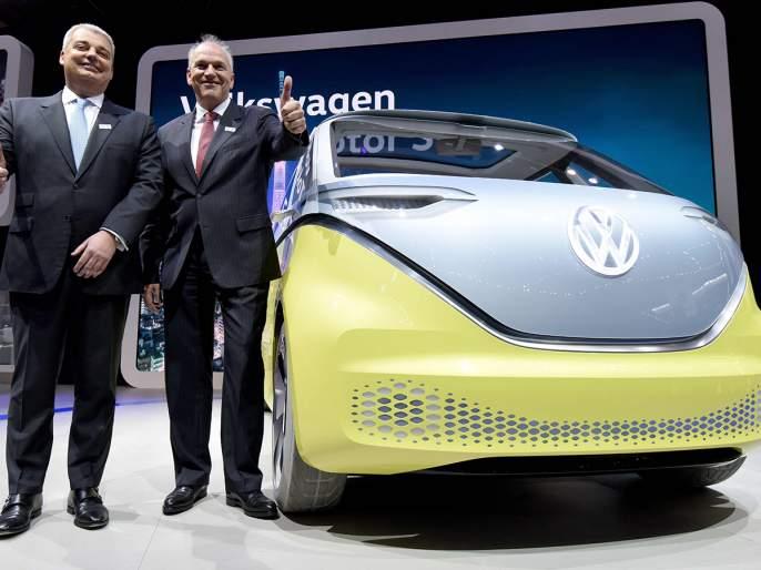 Volkswagen will stop petrol and diesel cars by 2026 ... | फोक्सवॅगनच्या पेट्रोल, डिझेलच्या कार 2026 पर्यंत बंद होणार