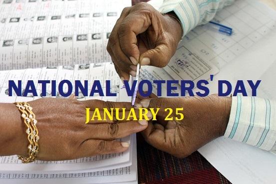 National Voters Day and the use of modern technology | राष्ट्रीय मतदार दिन आणि आधुनिक तंत्रज्ञानाचा वापर