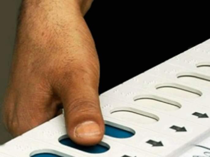 Maharashtra Election 2019 : Line cross of One hundred meters rule on polling booth   महाराष्ट्र निवडणूक २०१९ : मतदान केंद्राच्या परिसरातील शंभर मीटरची ' लक्ष्मणरेषा ' धाब्यावर