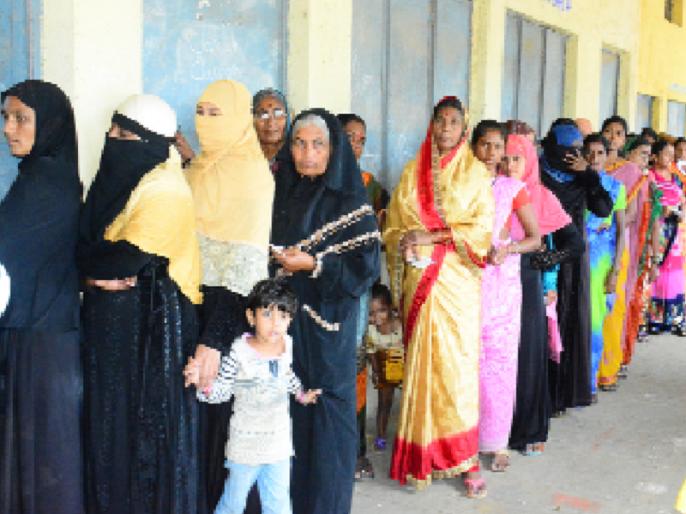 Maharashtra Election 2019 : Hingoli district polls 63.06 %   Maharashtra Election 2019 :हिगोली जिल्ह्यात ६३.०६ टक्के मतदान