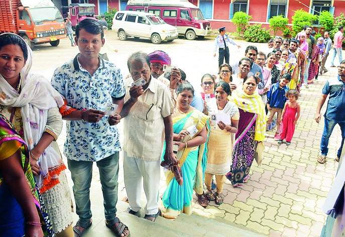 Maharashtra Assembly Election 2019: North Nagpur: Multiple Questions in North: Voting 51.11%   Maharashtra Assembly Election 2019 : उत्तर नागपूर :'उत्तर'मध्ये प्रश्न अनेक :मतदान ५१.११ %