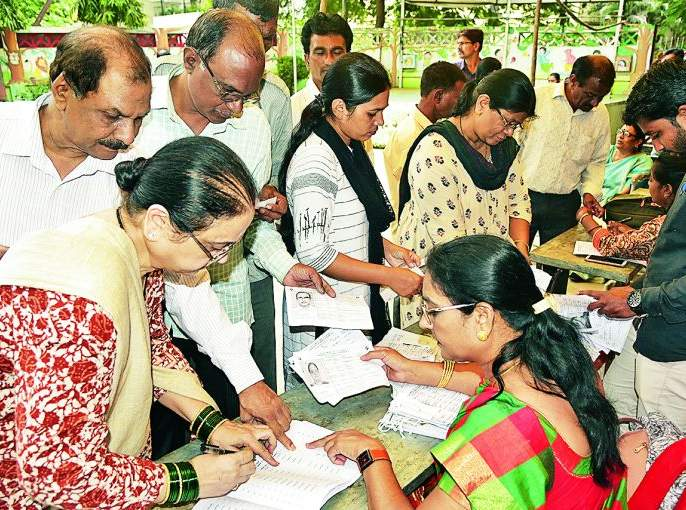 Maharashtra Assembly Election 2019 : South-West Nagpur: Decrease in 'hyprofile' constituency: voting 50.37% | Maharashtra Assembly Election 2019 : दक्षिण- पश्चिम नागपूर : 'हायप्रोफाईल' मतदारसंघातच घट :मतदान ५०.३७%